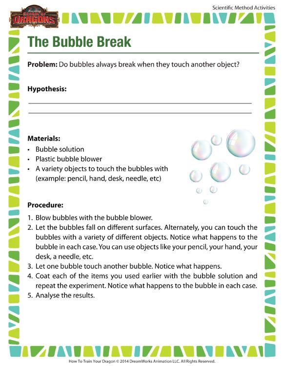 Online Science Kids Worksheets