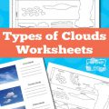 Types Of Clouds Worksheets For Kids