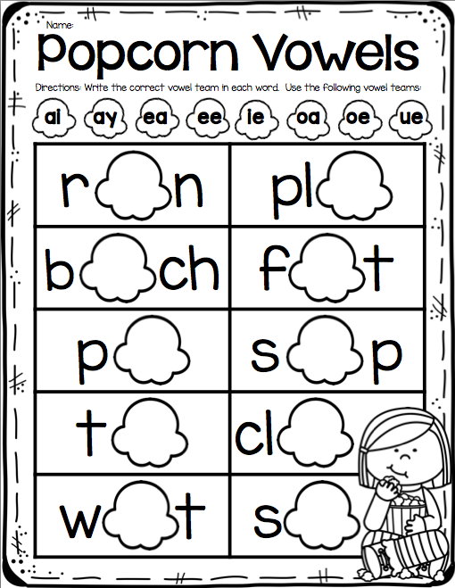 Vowel Team Worksheet Vowel Team Worksheets 2019 Area Of Trapezoid