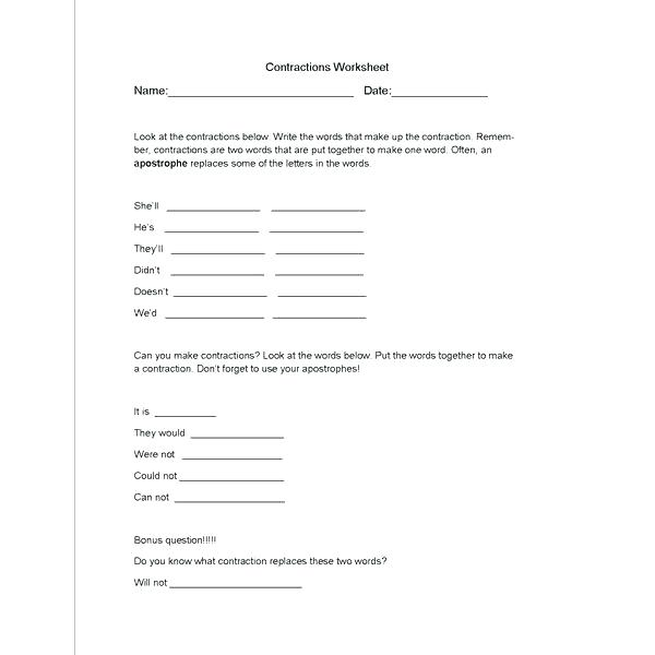 Basic Spanish Conversation Worksheets