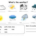Worksheets On Weather