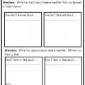 Weather Worksheets Grade 2