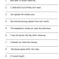 English Worksheets Grammar