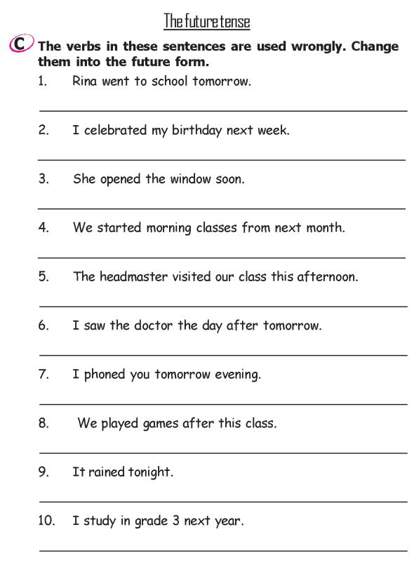 Grade 2 Grammar Lesson 13 Verbs