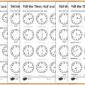 Time Worksheets Year 2