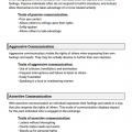 Communication Worksheets For Students