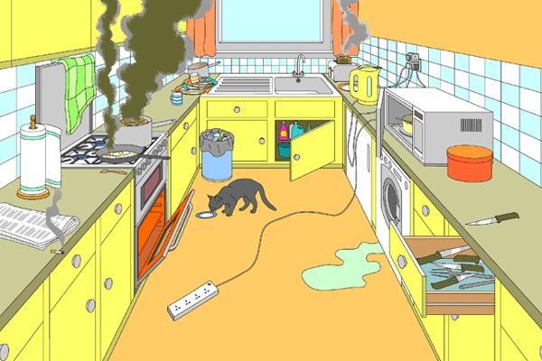 Kitchen Safety And Sanitation