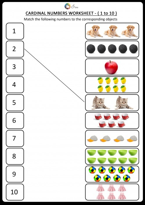 Free Downloadable Ordinal Numbers English Worksheets For Your
