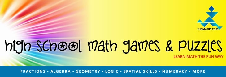 High School Math Games And Puzzles  Free Learning Resources And