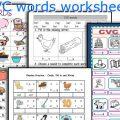 Cvc Words Worksheets Printable