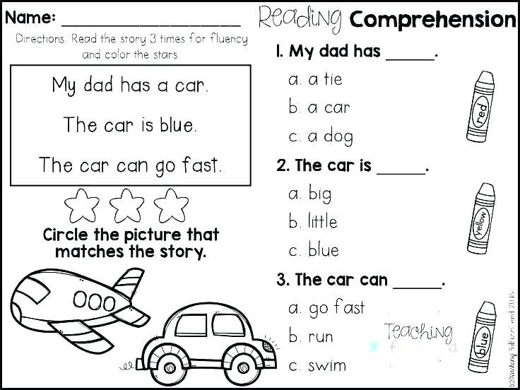 Free Printable Kindergarten Worksheets Reading – Keygen Info