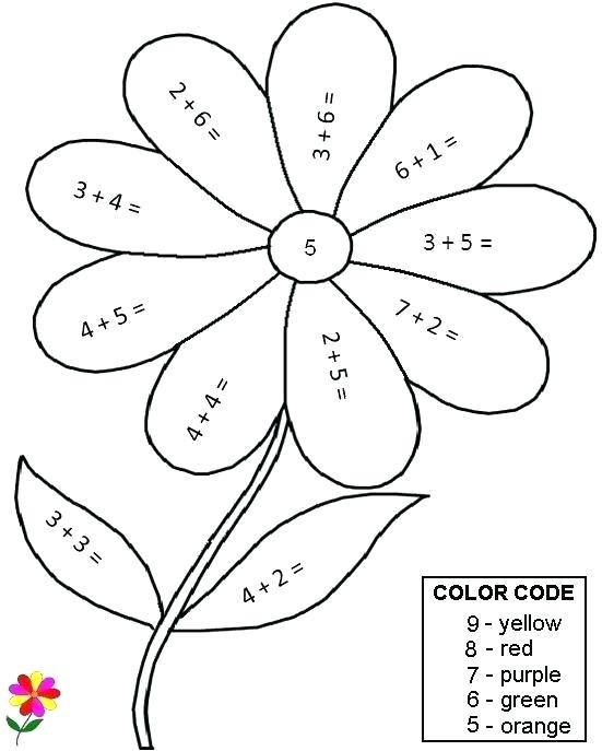 Math Coloring Worksheets For 1st Graders – Freesubmitdir Info