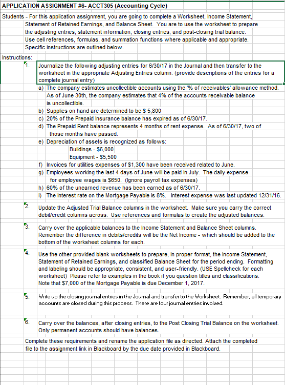 Solved  Kjw Company Worksheet For The Year Ended June 30