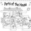 Rooms Of The House Worksheets For Kindergarten
