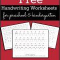 Name Practice Worksheets For Preschool