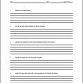 Scientific Questions Worksheets