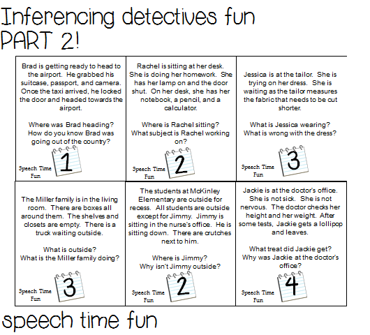 Printables  Inference Worksheets  Anitalophile Worksheets Printables