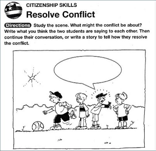 Social Skills Worksheets For Kindergarten