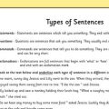 Worksheets For Types Of Sentences