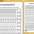 Count To 30 Worksheets
