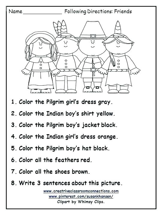 Thanksgiving Math Worksheets Middle School