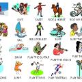 Freetime Activities Worksheets