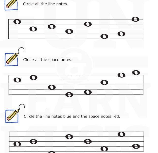 Let's Find Some Line And Space Notes!