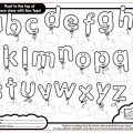 Alphabet Boxes Worksheets