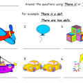 There Is There Are Worksheets For Kids Pdf