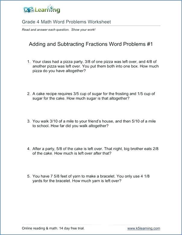3rd Grade Math Problem Solving Worksheets Free Math Problem