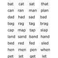 Preschool Spelling Worksheets