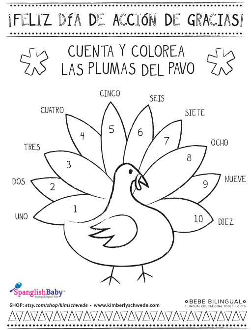 Start Your Thanksgiving Celebration Early With This Cute Día De