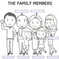 Members Of The Family Worksheets For Kindergarten