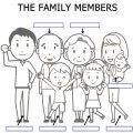 English Worksheets Family