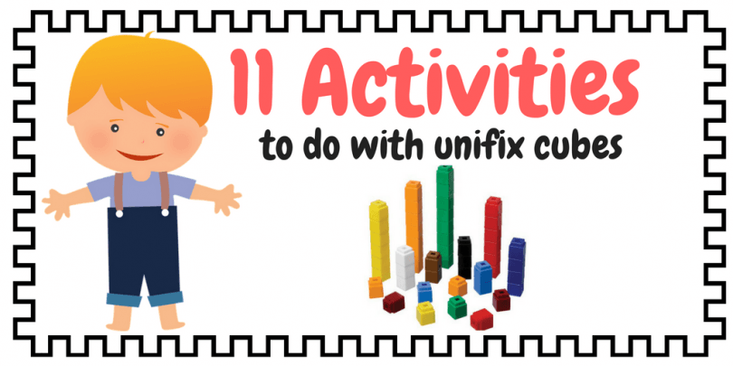 11 Math Activities You Can Do With Unifix Cubes (free Worksheets