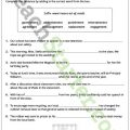 Suffixes Worksheets 6th Grade