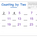 Counting By 2 5 10 Free Worksheets