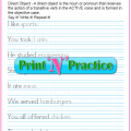 Direct Object Worksheets 4th Grade