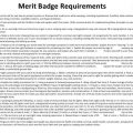 Environmental Science Merit Badge Worksheets