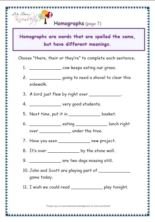 Grade 7 English Grammar Worksheets Grade 7 Worksheet Free