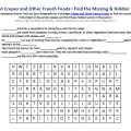 French Geography Worksheets