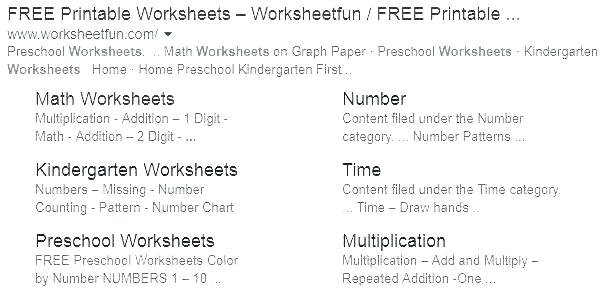 In On Under Worksheets For Kindergarten
