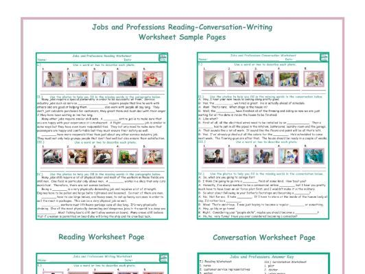 Jobs And Professions Reading