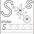 S Worksheets For Preschool