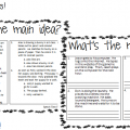 Halloween Main Idea Worksheets