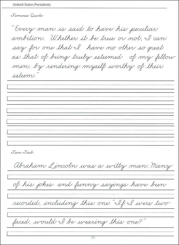 Middle School Handwriting Worksheets – Odmartlifestyle Com