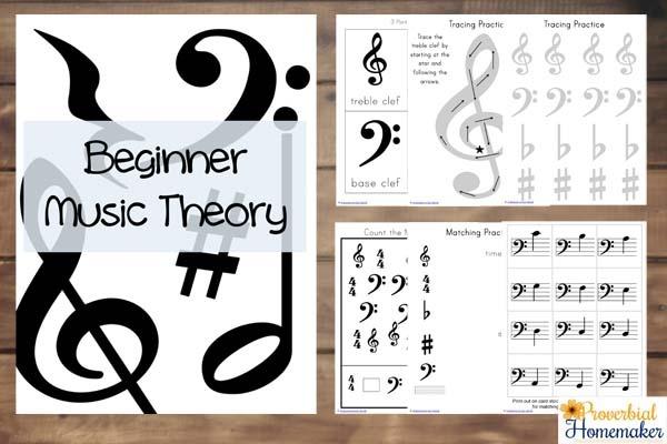 Beginner Music Theory Activities