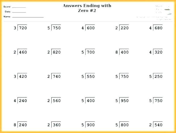 Printable Division Worksheets 3rd Grade – Charleskalajian Com