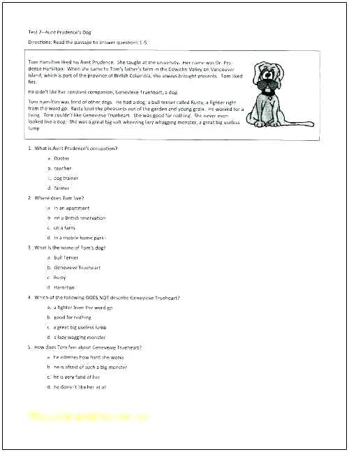 Reading Comprehension Worksheets Grade 6 Wizard Of Oz The