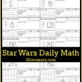 Star Wars Math Worksheets